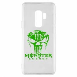 Чехол для Samsung S9+ Monster Energy Череп - FatLine
