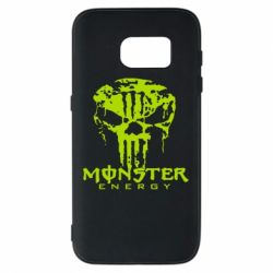 Чехол для Samsung S7 Monster Energy Череп - FatLine
