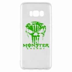 Чехол для Samsung S8 Monster Energy Череп - FatLine