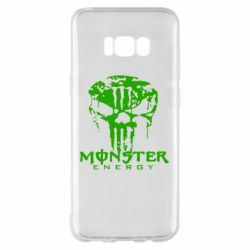 Чехол для Samsung S8+ Monster Energy Череп - FatLine
