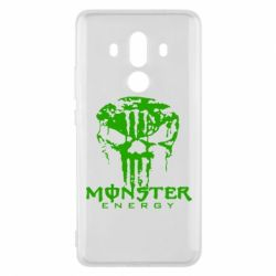 Чехол для Huawei Mate 10 Pro Monster Energy Череп - FatLine