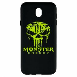 Чохол для Samsung J7 2017 Monster Energy Череп