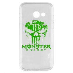 Чохол для Samsung A3 2017 Monster Energy Череп