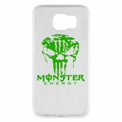 Чехол для Samsung S6 Monster Energy Череп - FatLine