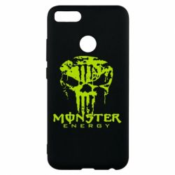 Чохол для Xiaomi Mi A1 Monster Energy Череп