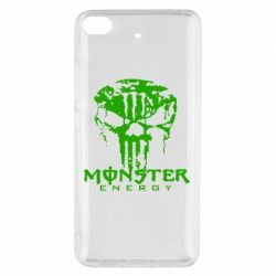 Чехол для Xiaomi Mi 5s Monster Energy Череп - FatLine