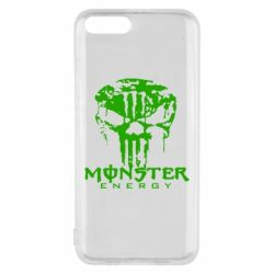 Чехол для Xiaomi Mi6 Monster Energy Череп - FatLine