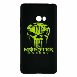Чехол для Xiaomi Mi Note 2 Monster Energy Череп - FatLine