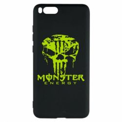 Чехол для Xiaomi Mi Note 3 Monster Energy Череп - FatLine