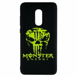 Чехол для Xiaomi Redmi Note 4 Monster Energy Череп - FatLine