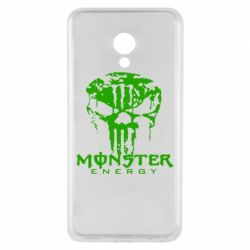 Чехол для Meizu M5 Monster Energy Череп - FatLine