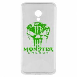 Чехол для Meizu M5 Monster Energy Череп - FatLine