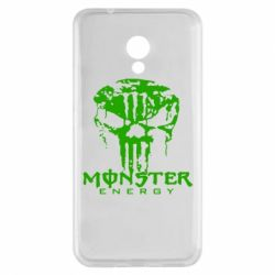 Чехол для Meizu M5s Monster Energy Череп - FatLine