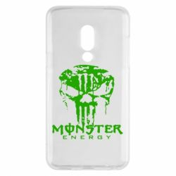 Чехол для Meizu 15 Monster Energy Череп - FatLine