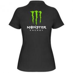 Женская футболка поло Monster Energy Classic - FatLine
