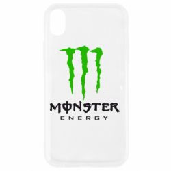 Чехол для iPhone XR Monster Energy Classic