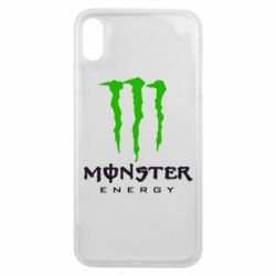 Чехол для iPhone Xs Max Monster Energy Classic