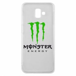 Чехол для Samsung J6 Plus 2018 Monster Energy Classic