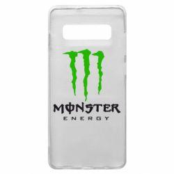 Чехол для Samsung S10+ Monster Energy Classic