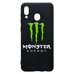 Чехол для Samsung A20 Monster Energy Classic