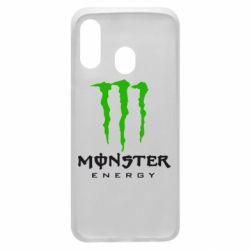 Чехол для Samsung A40 Monster Energy Classic