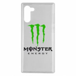 Чехол для Samsung Note 10 Monster Energy Classic