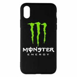 Чехол для iPhone X/Xs Monster Energy Classic