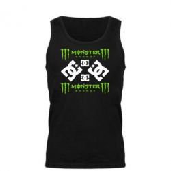 Мужская майка Monster Energy DC Logo - FatLine