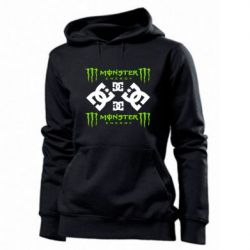 Женская толстовка Monster Energy DC Logo - FatLine