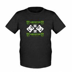 Детская футболка Monster Energy DC Logo - FatLine