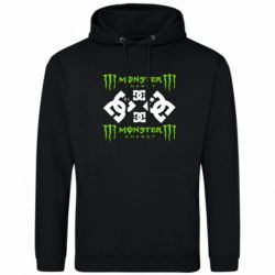 Толстовка Monster Energy DC Logo - FatLine