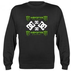 Реглан (свитшот) Monster Energy DC Logo - FatLine