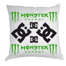 Подушка Monster Energy DC Logo - FatLine