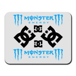 Коврик для мыши Monster Energy DC Logo - FatLine