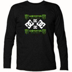 Футболка с длинным рукавом Monster Energy DC Logo - FatLine