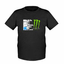 Детская футболка Monster Energy DC Shoes - FatLine