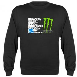 Реглан (свитшот) Monster Energy DC Shoes - FatLine