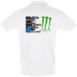 Футболка Поло Monster Energy DC Shoes - FatLine