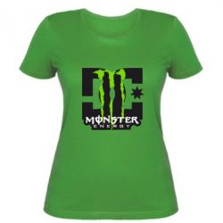 Жіноча футболка Monster Energy DC