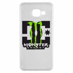 Чохол для Samsung A3 2016 Monster Energy DC