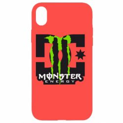 Чохол для iPhone XR Monster Energy DC