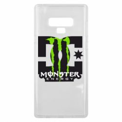 Чохол для Samsung Note 9 Monster Energy DC