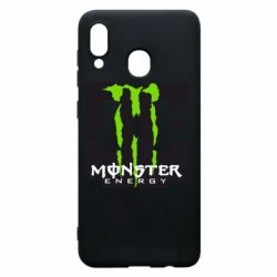 Чохол для Samsung A30 Monster Energy DC