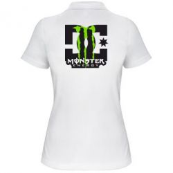 Жіноча футболка поло Monster Energy DC