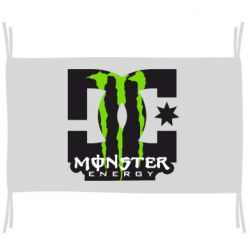 Прапор Monster Energy DC