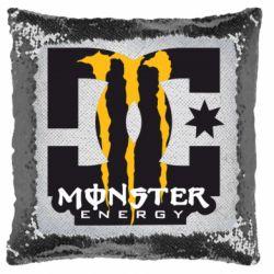 Подушка-хамелеон Monster Energy DC