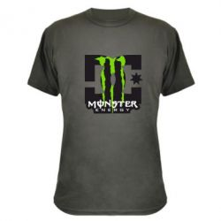 Камуфляжна футболка Monster Energy DC