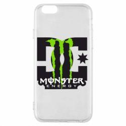 Чохол для iPhone 6/6S Monster Energy DC