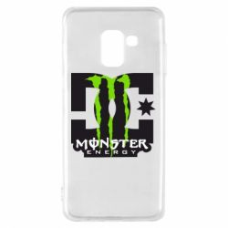 Чохол для Samsung A8 2018 Monster Energy DC