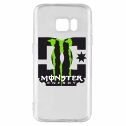 Чохол для Samsung S7 Monster Energy DC